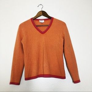 Charter Club petite cashmere sweater V neck